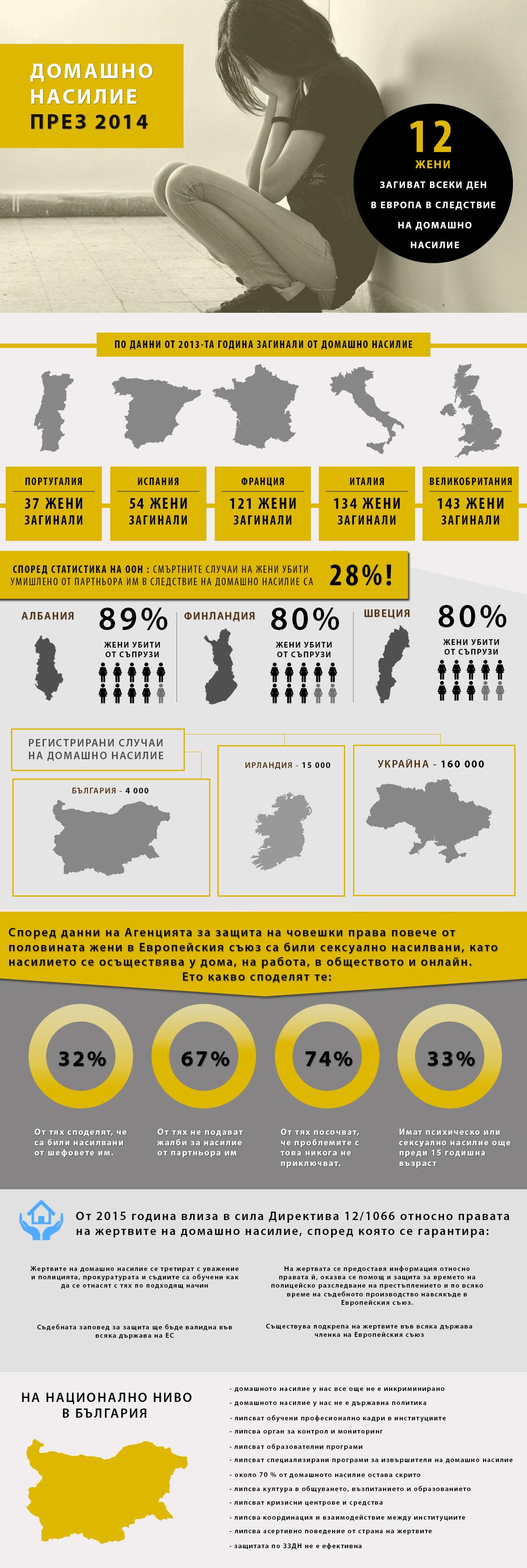 домашно насилие 2014